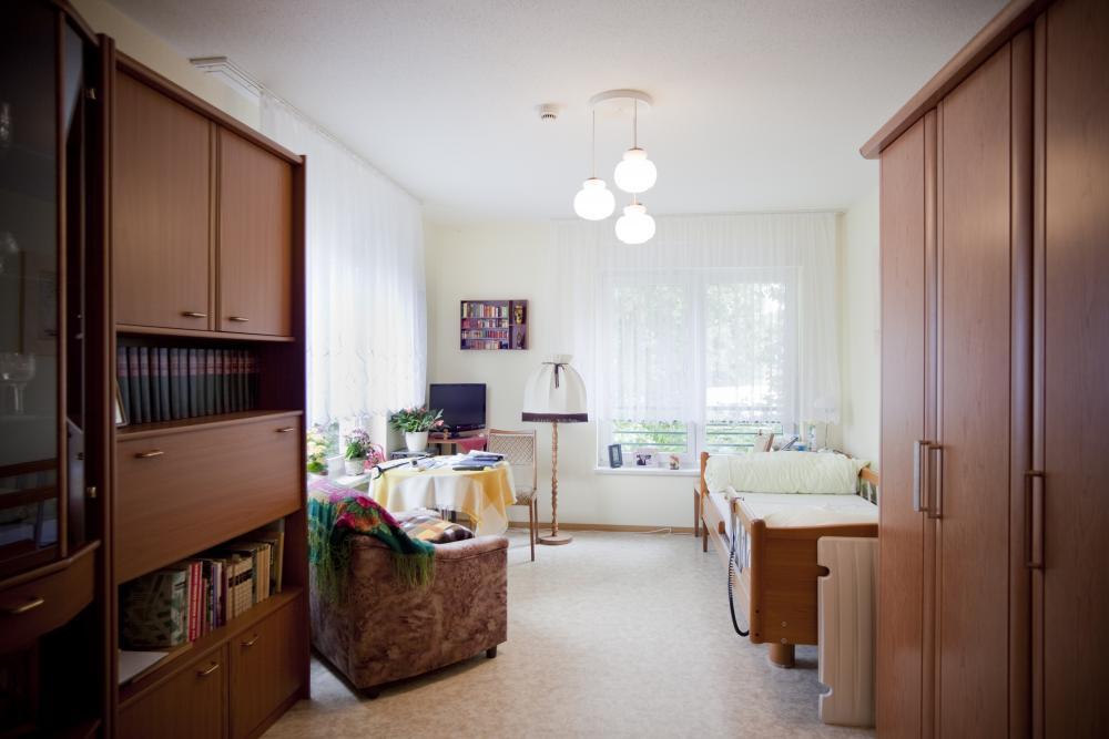 Beispielzimmer Pflegeheim